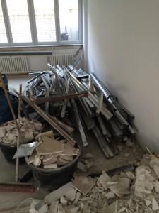 Baustellenaufräumung